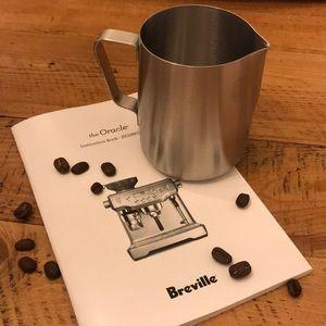 Other - Breville Espresso Milk Jug
